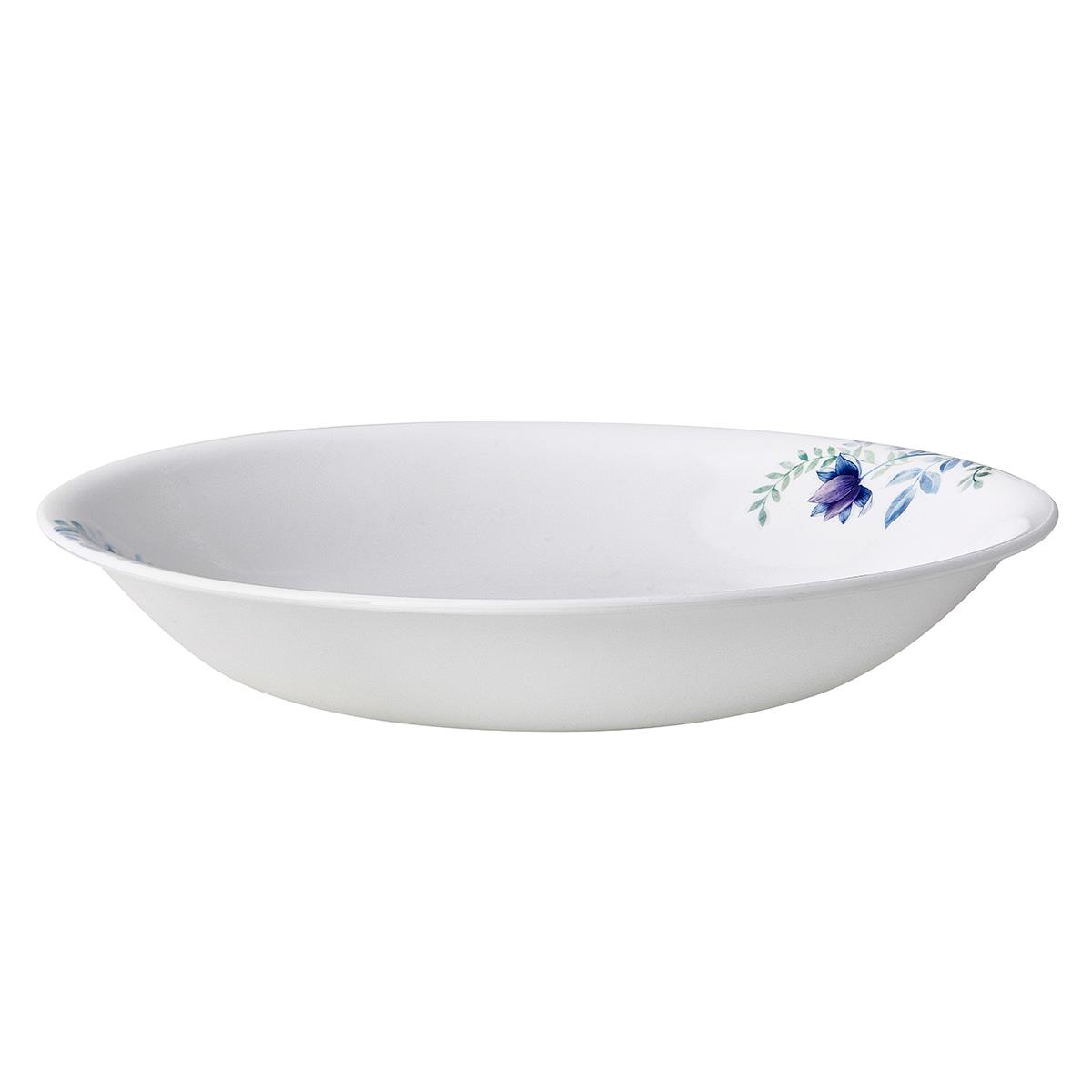 Corelle 21cm Soup Plate Blue Floral