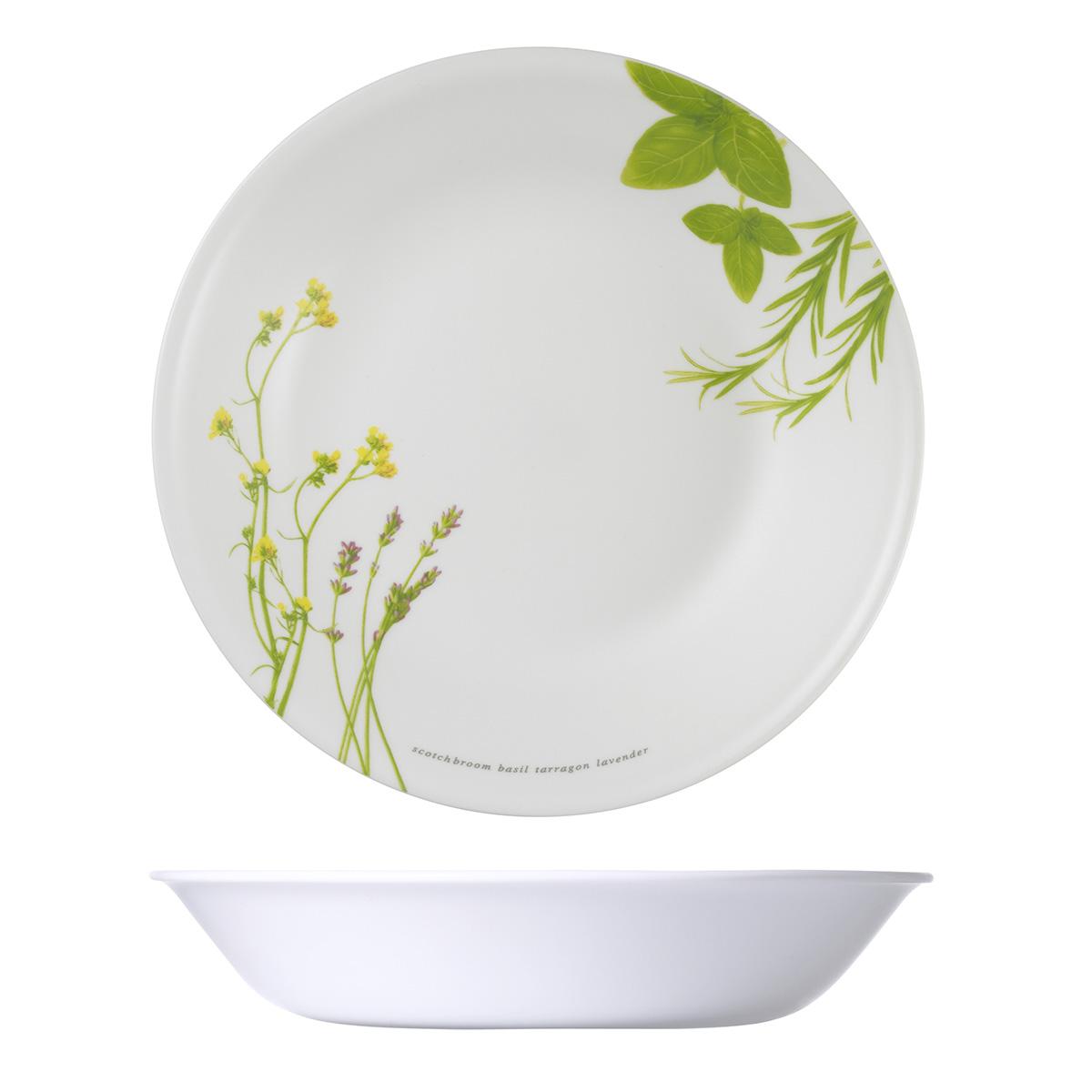Corelle 21cm Soup Plate European Herbs