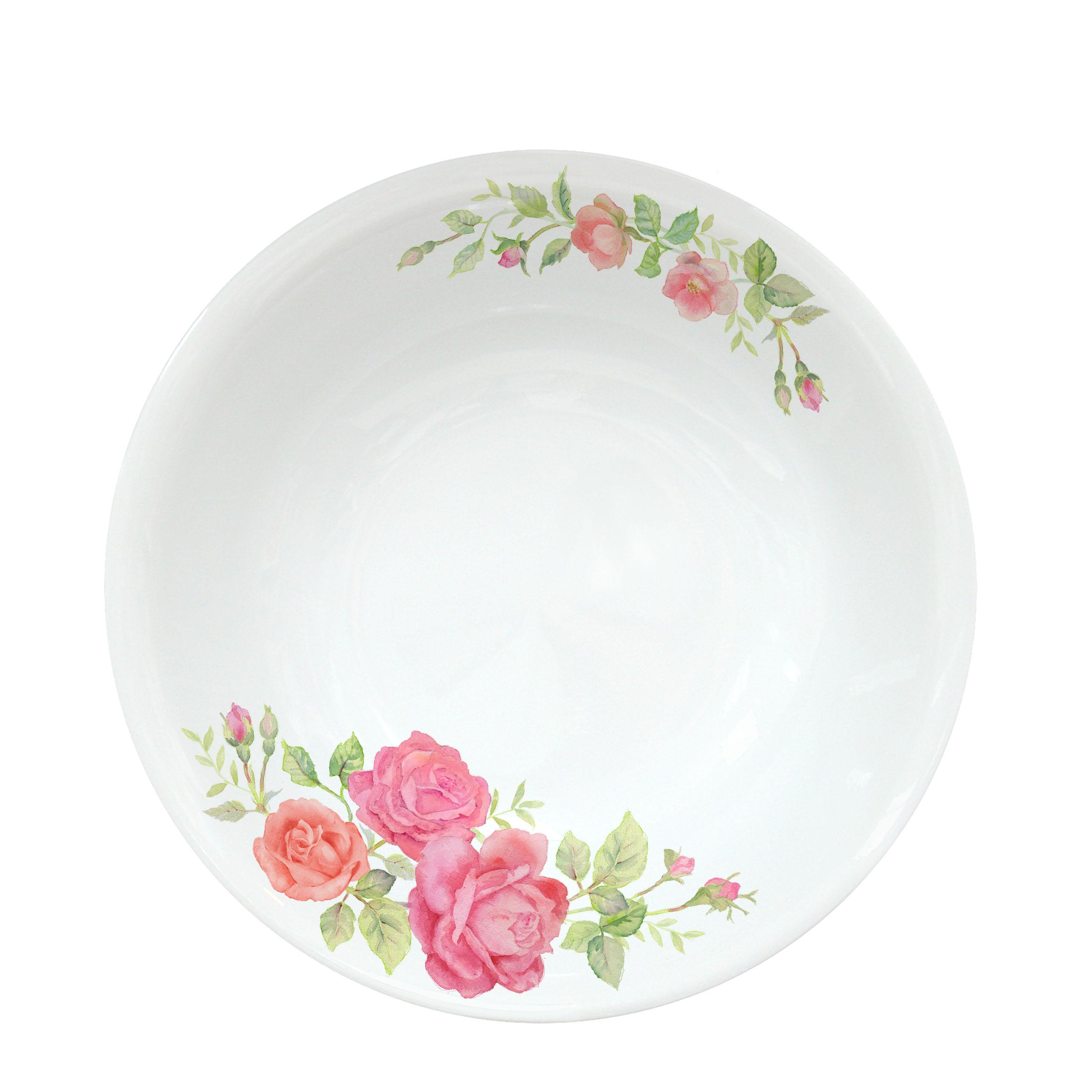 Corelle 17cm Soup Plate Rosabelle